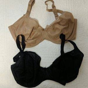 Chantelle Parisian Plunge Bras UK 36FF